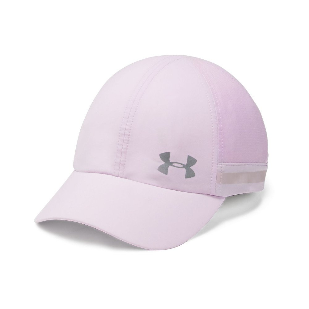 under armour fly-by cap lodowo-różowa