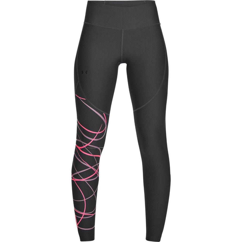 under armour vanish leggings poised graphic w grafitowo-czarne