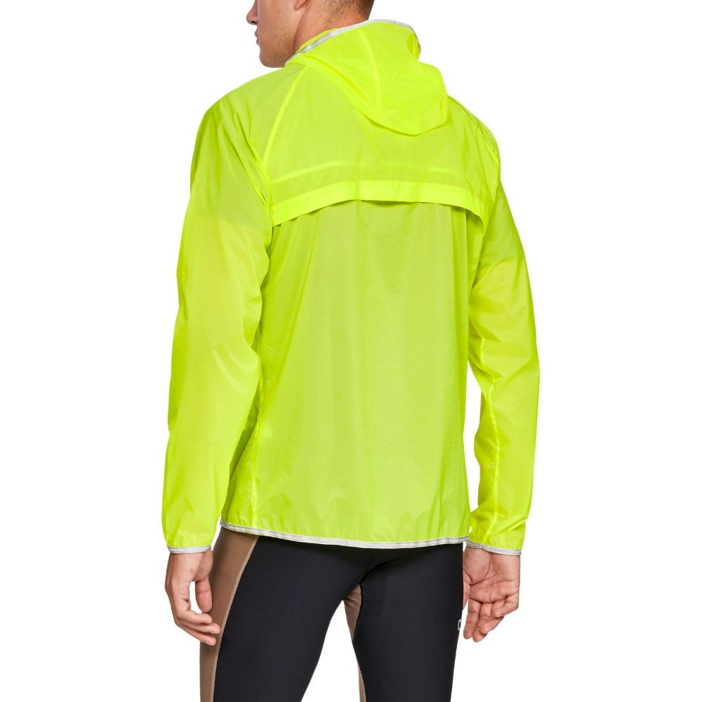 under armour ua qualifier storm packable jacket m jaskrawo-Żółta