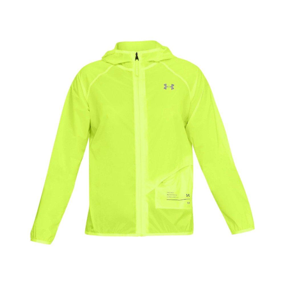 under armour ua qualifier storm packable jacket w jaskrawo-Żółta