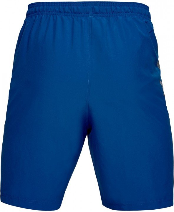 under armour woven graphic wordmark short blue