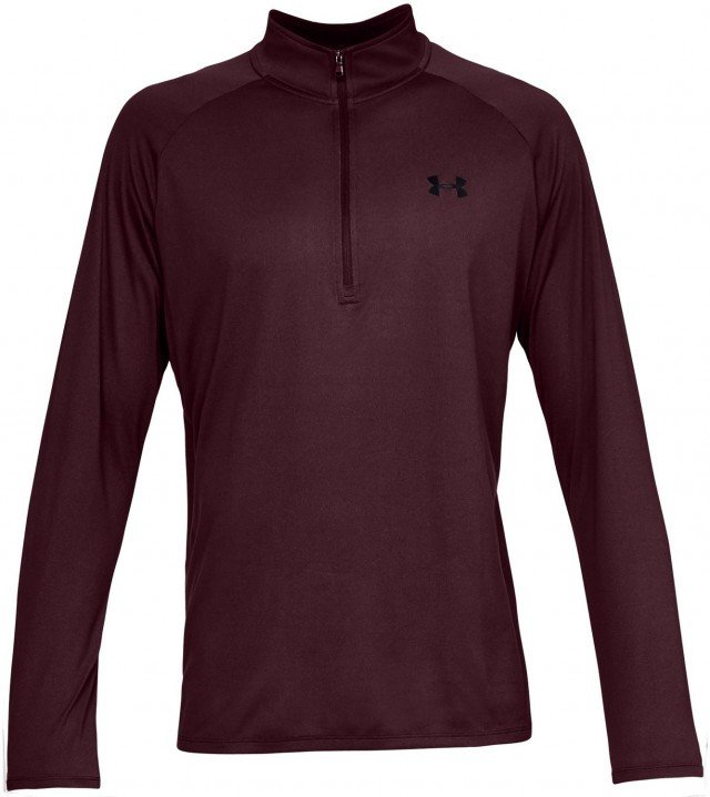 under armour ua tech 1/2 zip 2.0 red