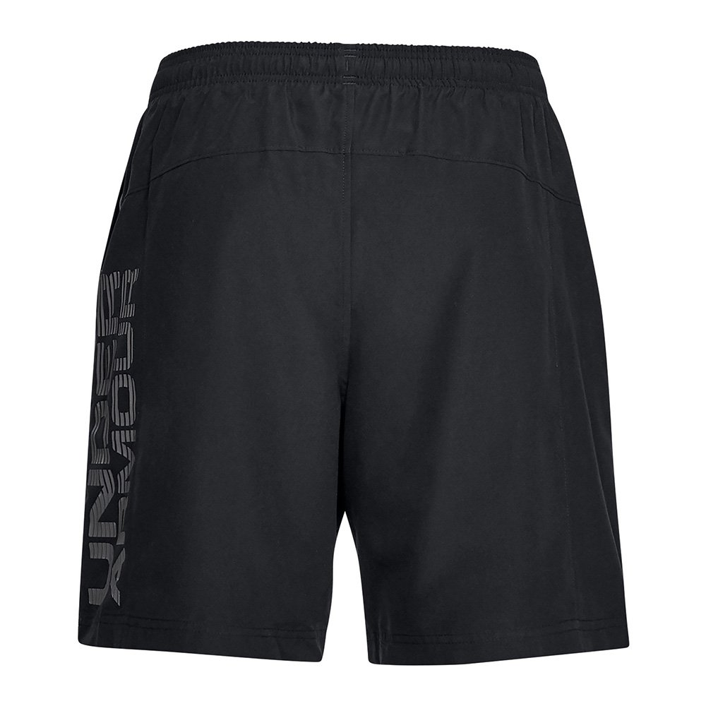 under armour woven graphic short męskie czarne
