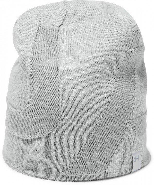 under armour 4-in-1 beanie grey