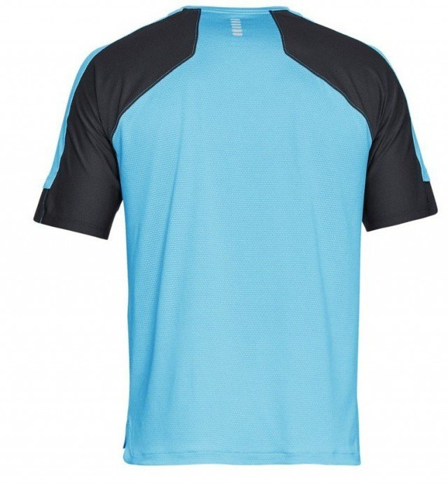 under armour hexdelta short sleeve blue