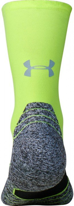 under armour ua run cushion crew yellow