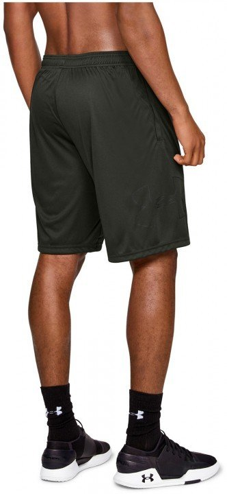 under armour tech graphic short green