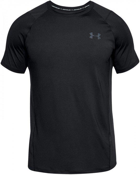 under armour raid 2.0 short sleeve left chest black