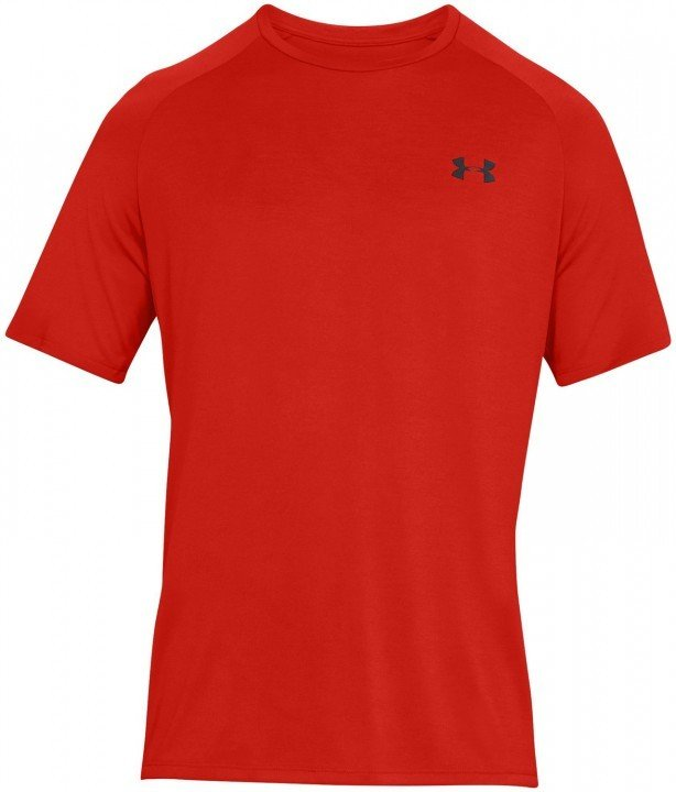 under armour tech short sleeve tee 2.0 red