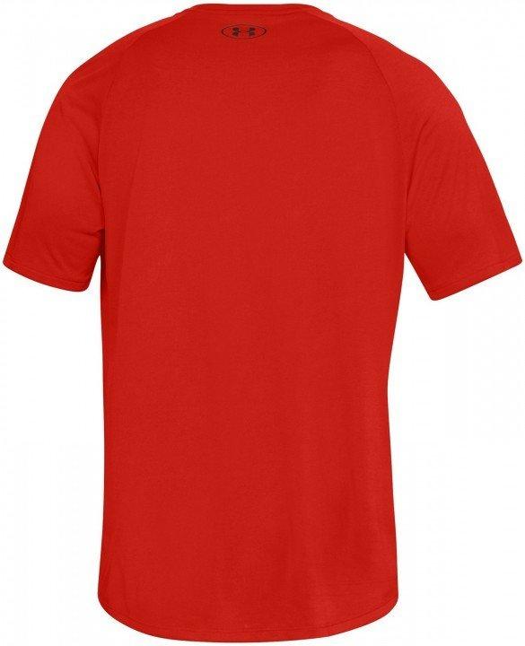under armour tech short sleeve tee 2.0 red
