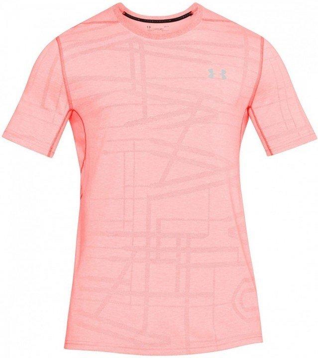 under armour threadborne elite short sleeve pink