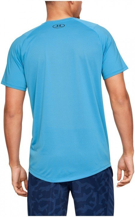under armour mk1 short sleeve q2 printed blue