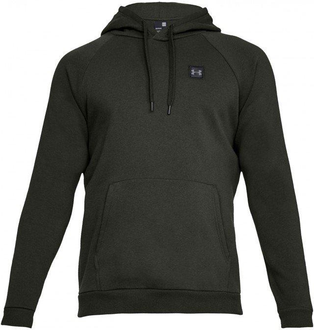 under armour rival fleece po hoodie green