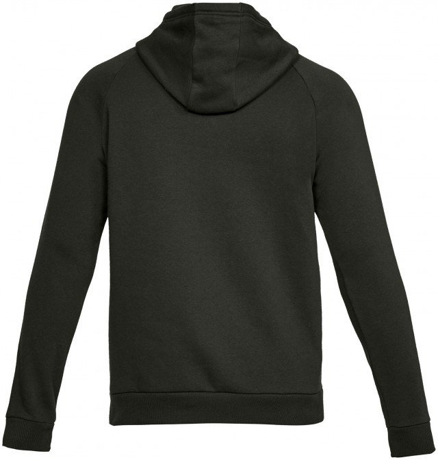 under armour rival fleece po hoodie green