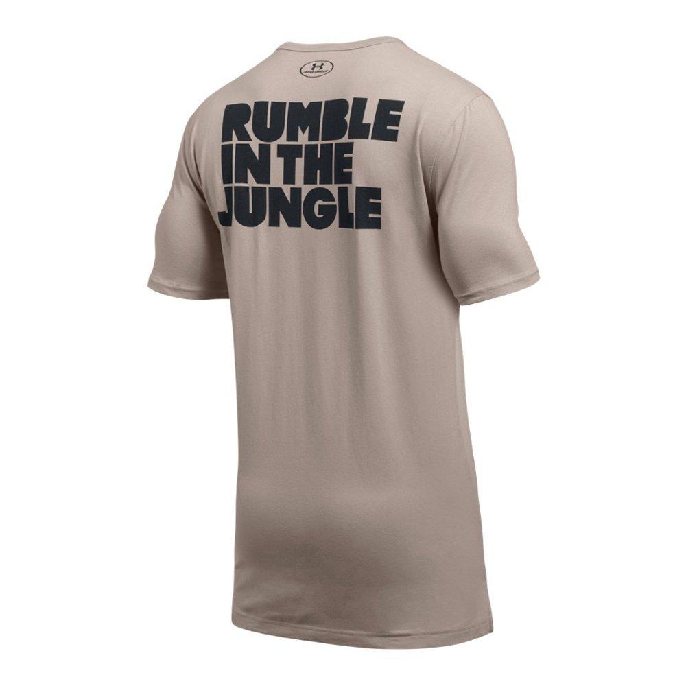 under armour ali rumble in the jungle t-shirt tan męska