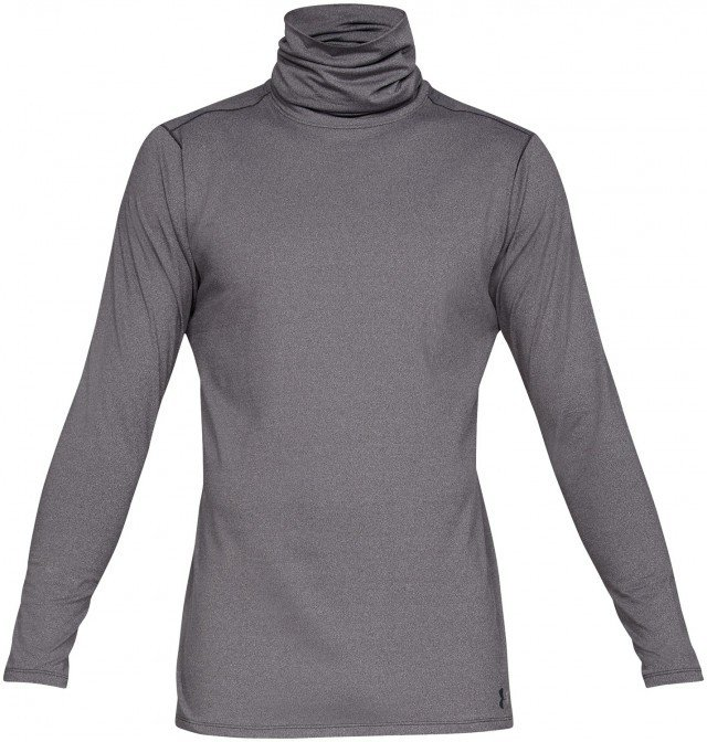 under armour coldgear® fitted funnel neck black