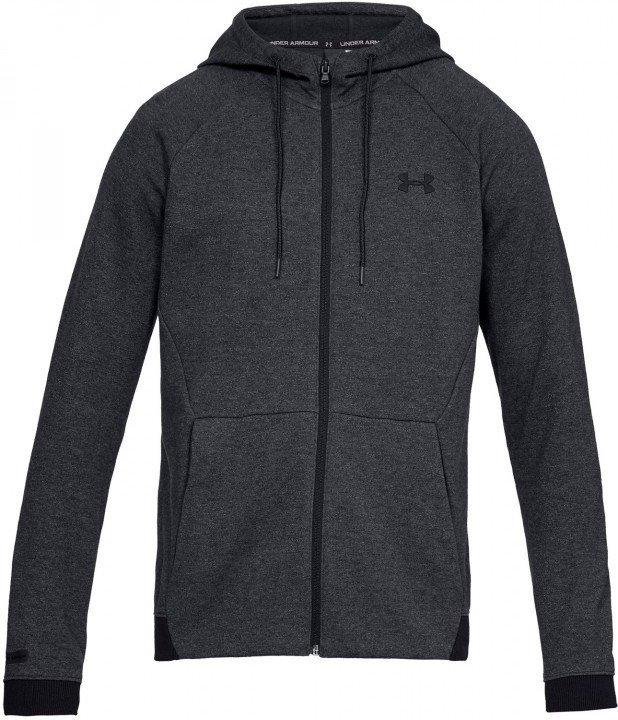 under armour unstoppable 2x knit fz grey