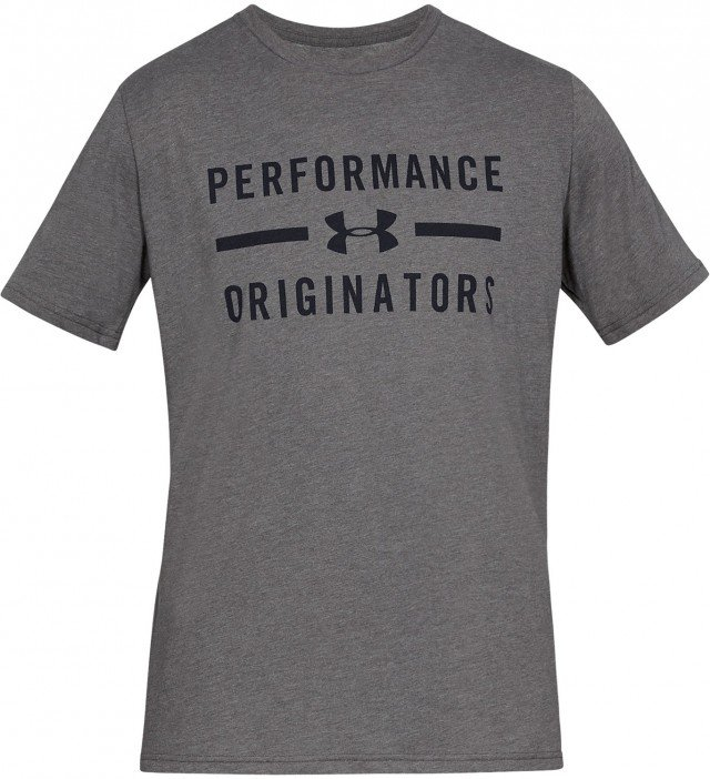 under armour ua perform originators short sleeve gray