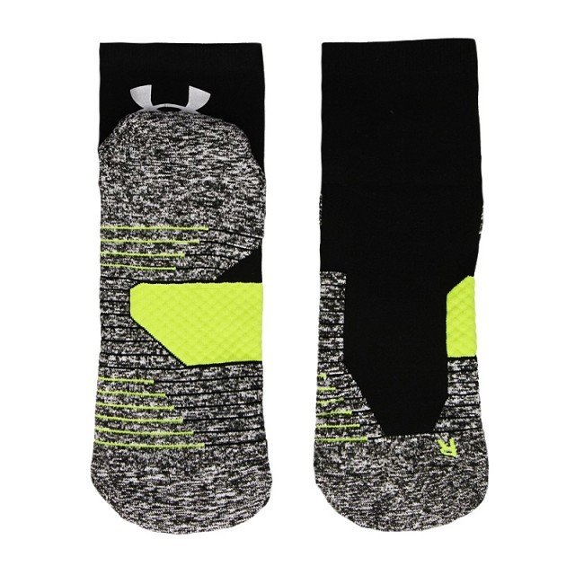under armour charged cushion quarter black