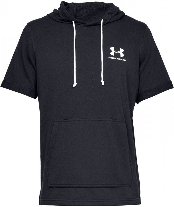 under armour sportstyle terry ss hoody black
