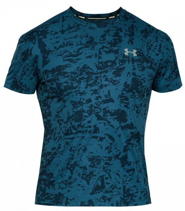 under armour ua speed stride printed shore sleeve blue