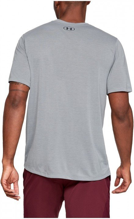 under armour ua siro short sleeve gray
