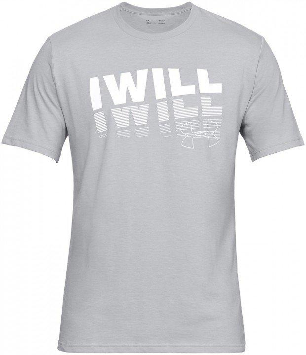 under armour ua i will 2.0 short sleeve grey