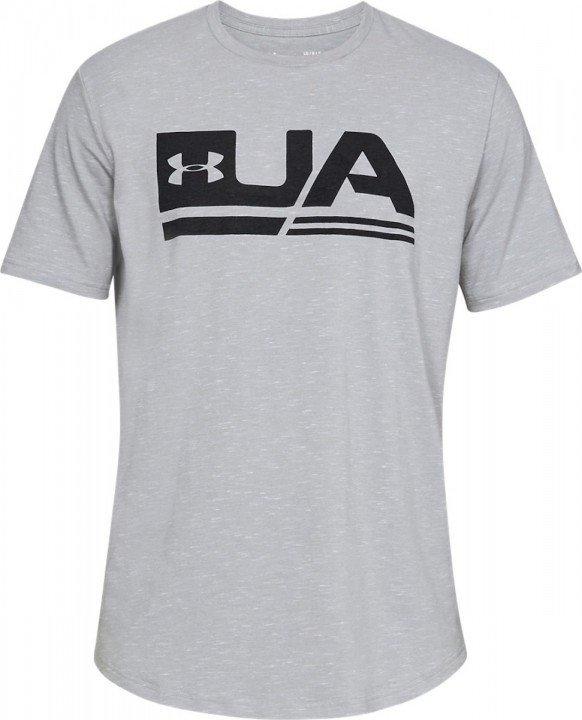 under armour ua sportstyle short sleeve grey
