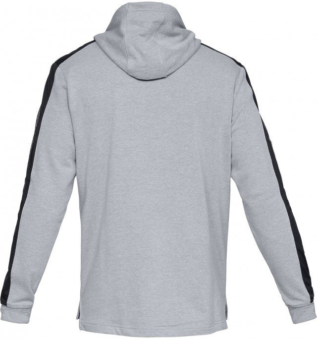 under armour threadborne terry hoodie grey