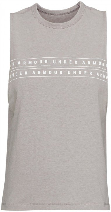 under armour graphic wm muscle tank grey