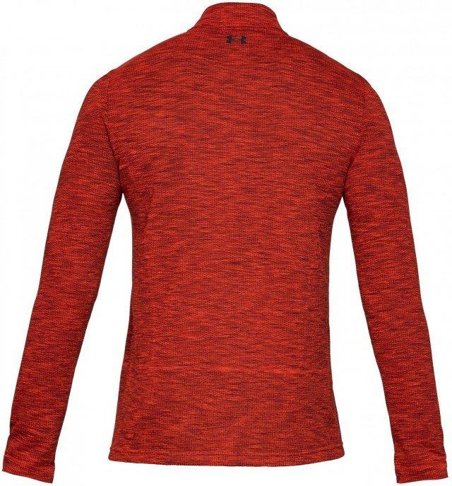 under armour vanish seamless 1/2 zip red