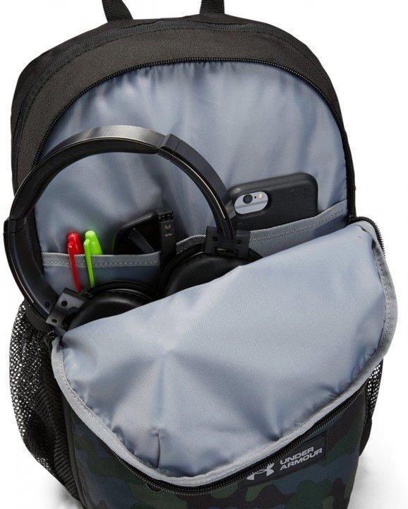 under armour ua roland backpack camo green