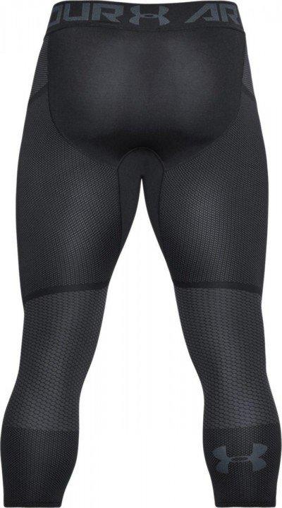 under armour threadborne seamless 3/4 leg black