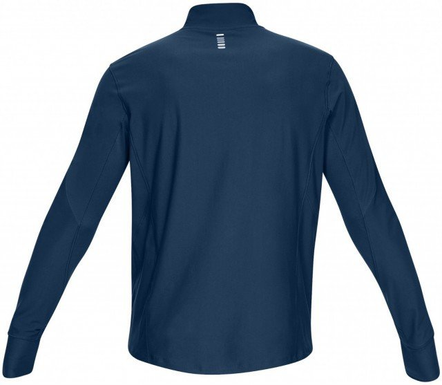 under armour ua qualifier half zip blue