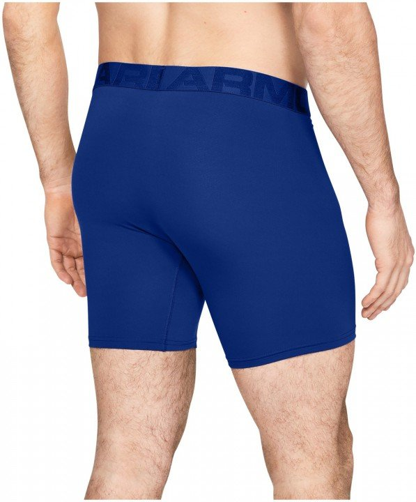 under armour tech mesh 6in 2pack blue