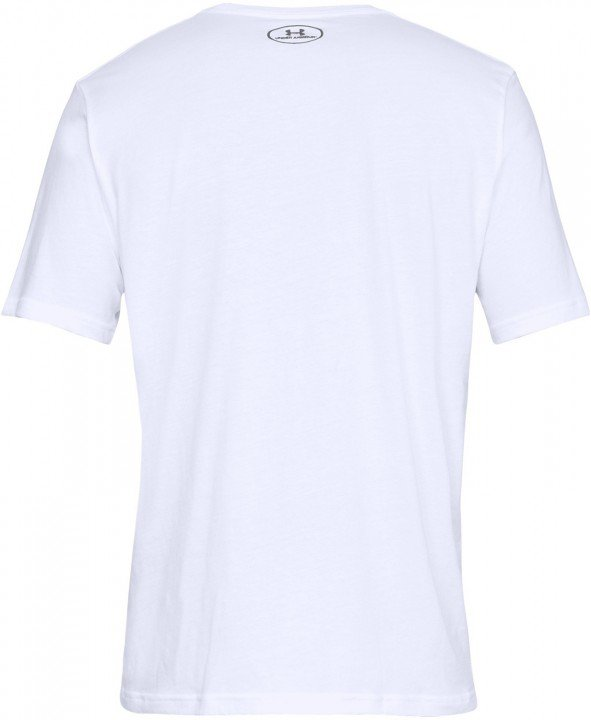 under armour ua team issue wordmark short sleeve white