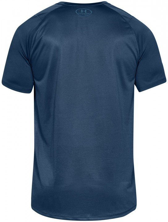 under armour mk1 short sleeve wordmark blue