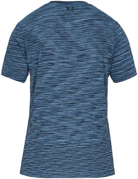 under armour vanish seamless short sleeve blue