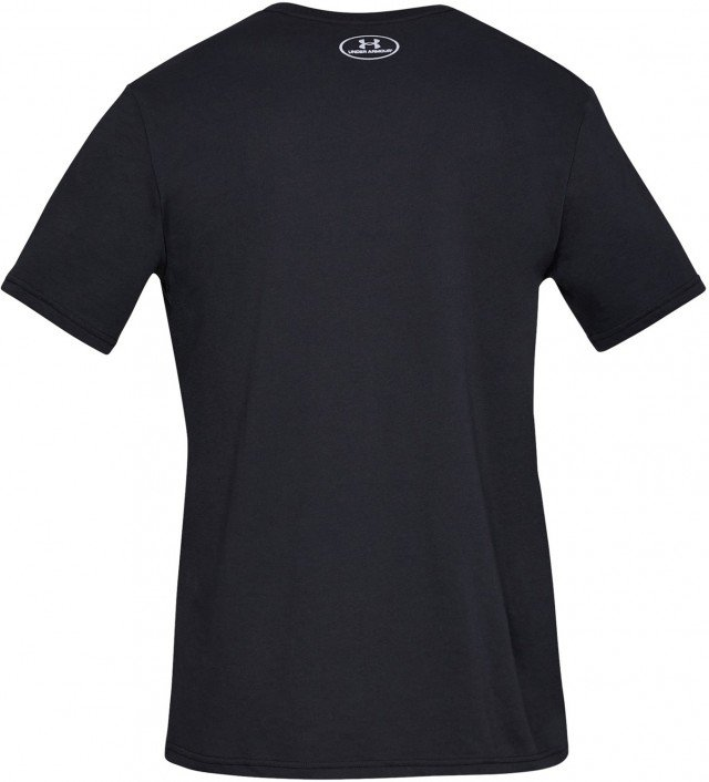 under armour ua branded big logo short sleeve black
