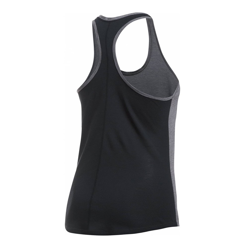 koszulka under armour  threadborne run mesh tank gray