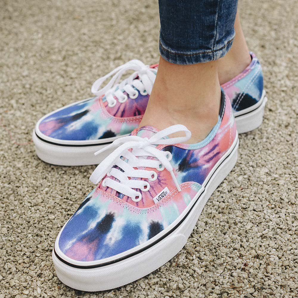 Vans UA Authentic Tie Dye Damskie Multikolor (VN0A38EMVKI)
