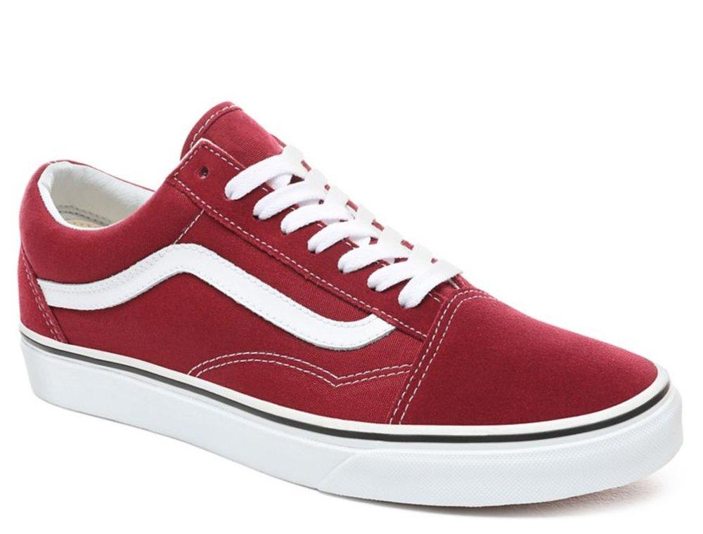przybywa zasznurować konkurencyjna cena buty vans red