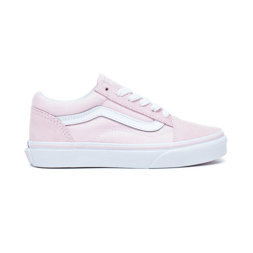 Vans Old Skool (SuedeCanvas) różowo białe