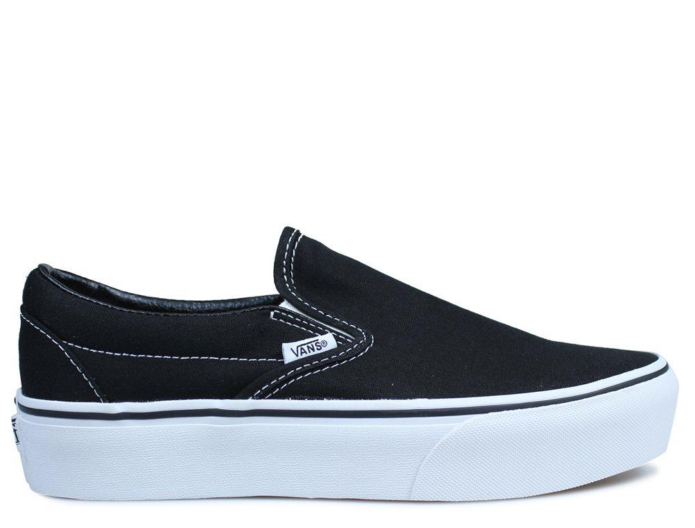vans ua classic slip on damskie czarne (vn00018eblk)