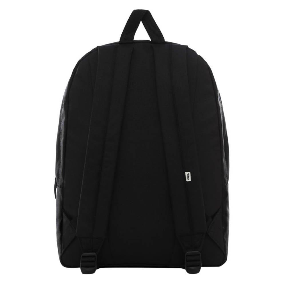 vans wm realm backpack botanical check
