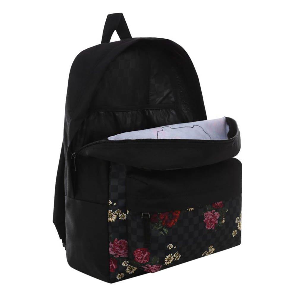 plecak vans wm realm backpack botanical check (vn0a3ui6uwx)