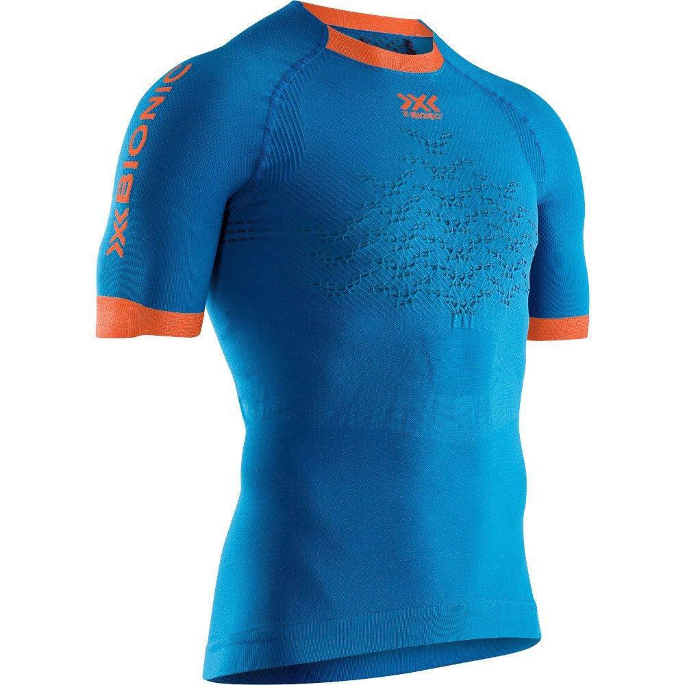 x-bionic the trick 4.0 run shirt m niebieska