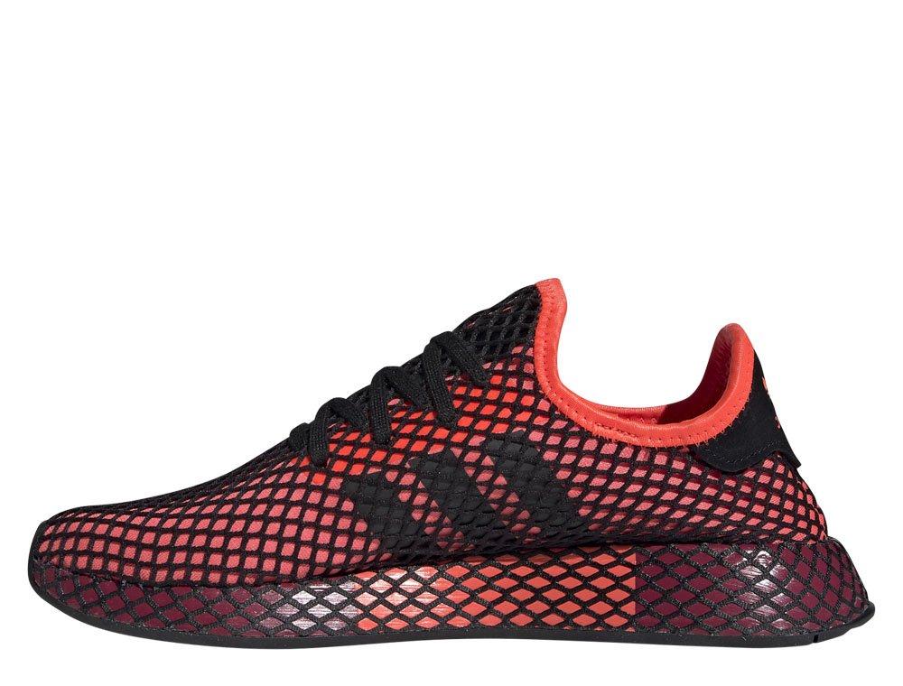 adidas deerupt runner bordowe