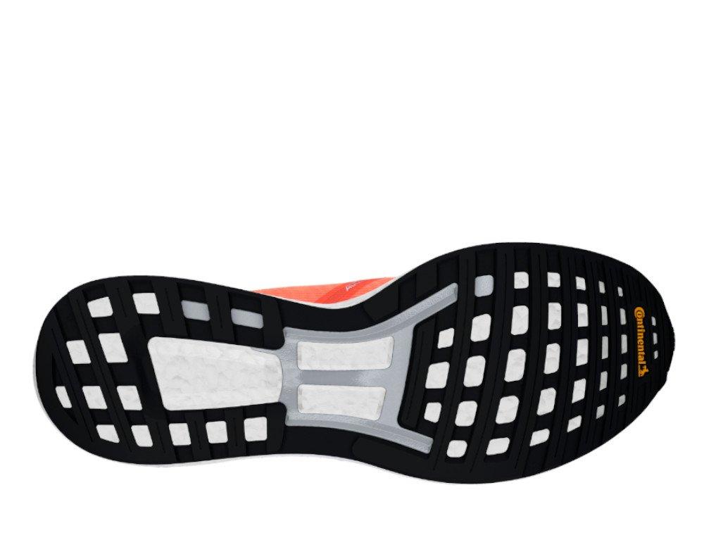 adidas adizero boston 8 m pomarańczowo-czarne