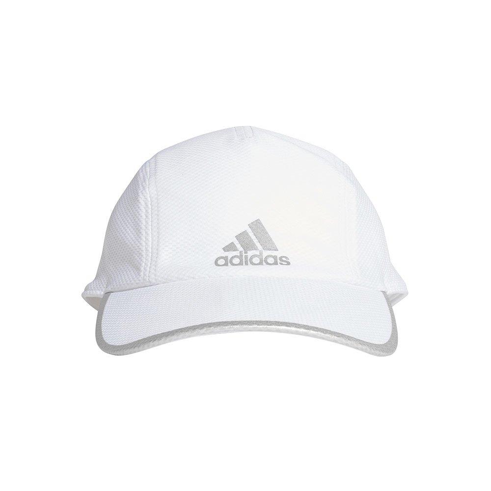 adidas aeroready runner mesh cap biała